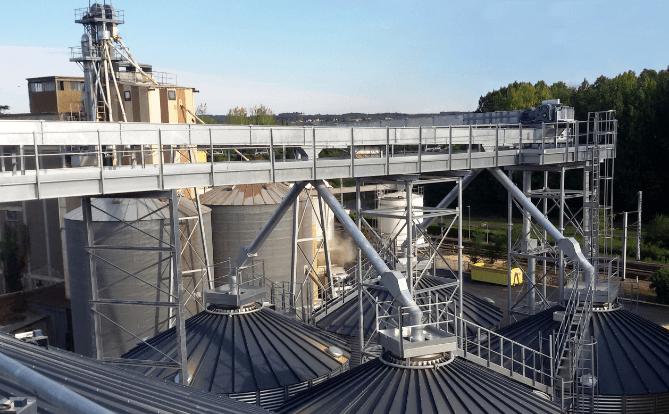 Manutention céréales stockage silo CERES Agro-industrie