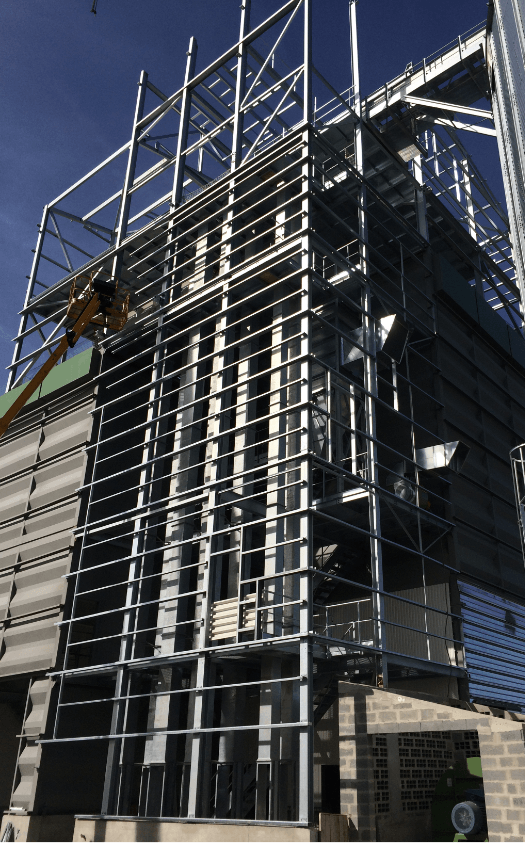 Coopérative de Creully stockage silo céréales CERES Agro-industrie
