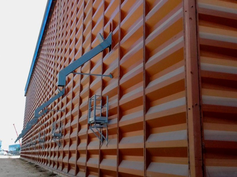 Dynacome (Maroc) Augmenter capacité de stockage en céréales stockage silo CERES Agro-industrie