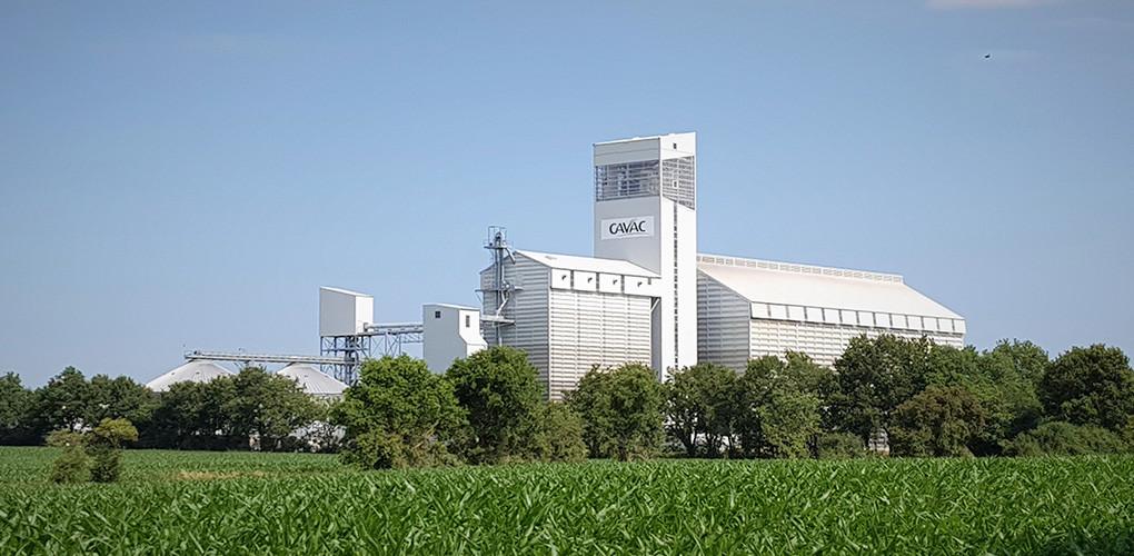 CAVAC Aizenay stockage silo d'allotement de grande capacité