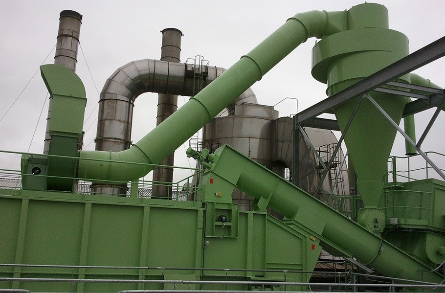 Déshydratation de luzerne industrie usine de déshydratation