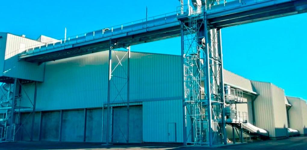 SPBL - Silo Portuaire Bordeaux Letierce Bassens CERES Agro-industrie