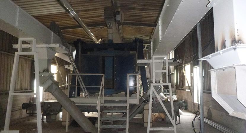 VIVESCIA - Roncenay Revamping stockage silo en béton CERES Agro-industrie