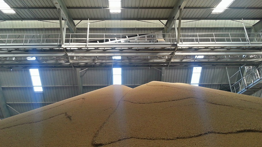 Augmentation capacité de stockage silos béton, silos palplanche ou circulaire, fond vibrant